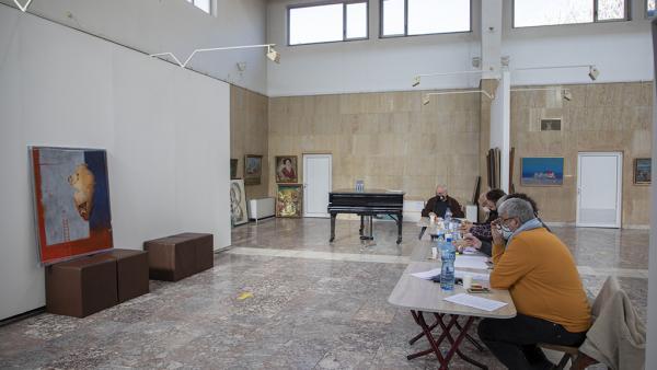 Надежда Кутева грабна голямата награда на Балканското квадринале по живописта