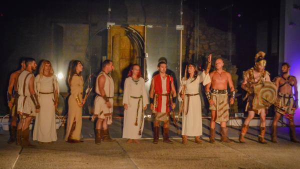 Спектакълът Мистиката на Долината съживи тракийската могила Шушманец