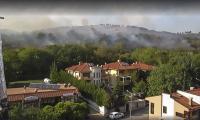 Пламъци обвиха дървета и храсти над Малкия Железник в Стара Загора