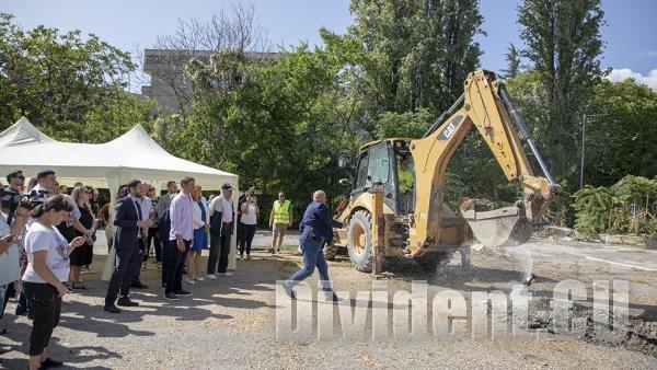 Започна реконструкцията на новия Руски пазар в Стара Загора