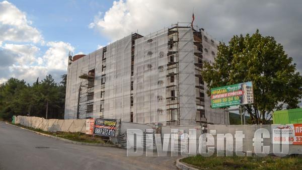 Лесо  превръща недостроена сграда от комунизма в жилищна кооперация