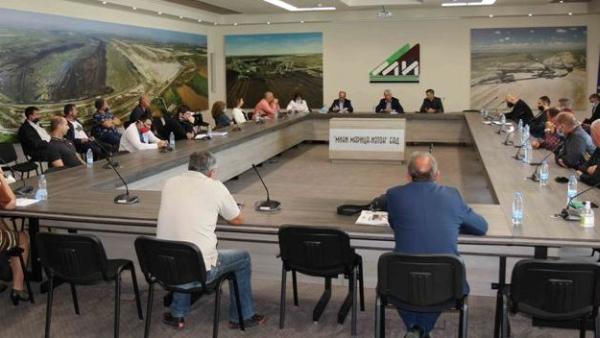 Синдикалисти обсъдиха Зелената сделка в Мини Марица-изток