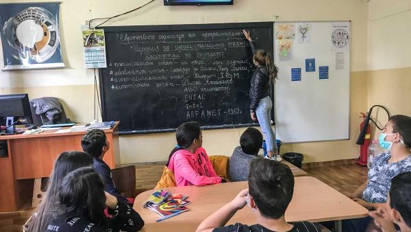 Седмица на програмирането организираха в старозагорско училище