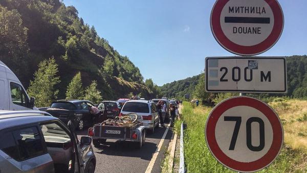 Гърция забрани леки автомобили да минават през ГКПП Маказа