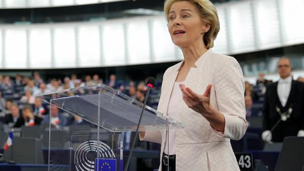 За първи път жена заема поста председател на Европейската комисия - Урсула фон дер Лайен!