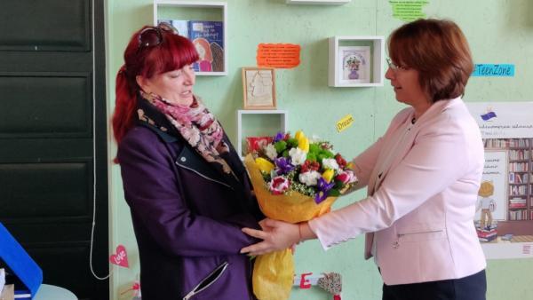 Библиотека Искра в Казанлък има нов директор