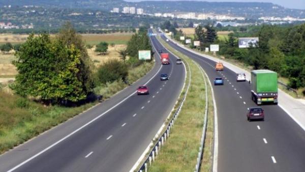 Започва ремонт на нова отсечка от автомагистрала Тракия
