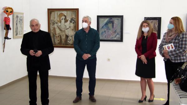 Подредиха ретроспективна изложба на големия творец на Стара Загора Любомир Цакев