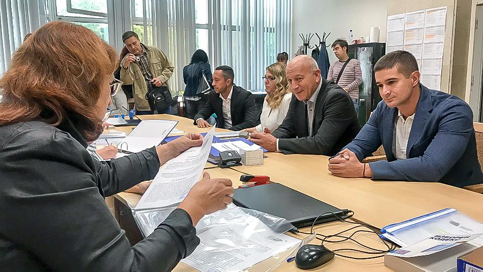ГЕРБ-Стара Загора регистрира кандидатурите на Живко Тодоров и 51 кандидати за общински съветници