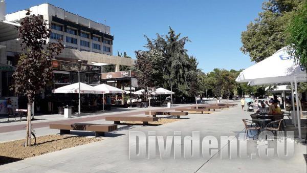 Кметът глоби с над половин милион лева строителите на пешеходната зона в Стара Загора