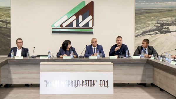 Комплексът Марица-изток да работи до 2030 - 2050 г. е утвърдено в Интегрирания план за енергетика и климат