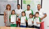 Децата на тенис клуб Августа Траяна станаха шампиони на България