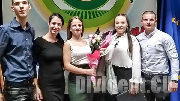 Новият Млад Кмет на града е Теодора Иванова от СУ Иван Вазов