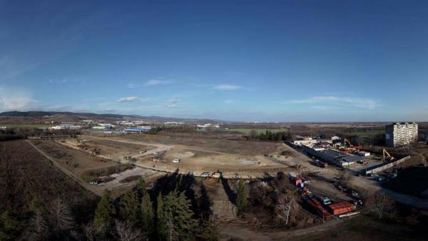Изградиха напълно канализацията на новата Индустриална зона  Загоре