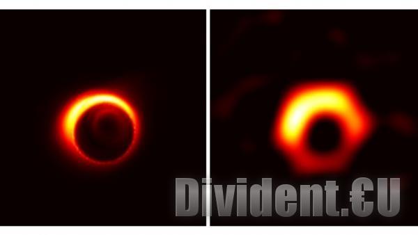 Заснеха първата снимка на черна дупка с помощта на 8 телескопа