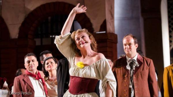 Веселина Кацарова и Камен Чанев пеят в концерт за 95 години Старозагорска опера