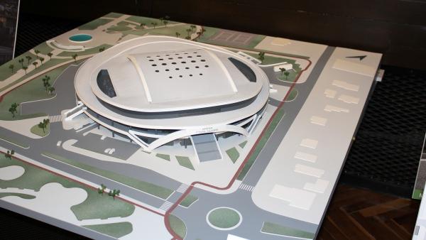Проект с авангарден вид на летяща чиния спечели конкурса за зала Арена Стара Загора